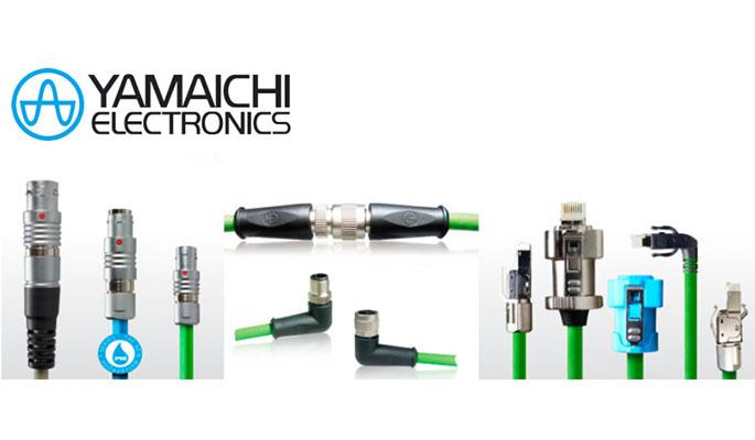 Yamaichi Electronics pyöröliittimiä ja adaptereita